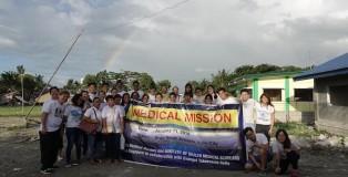 Victoria and the Iloilo Medical Mission team, January 2018 (photo credit: Alvin Chio)