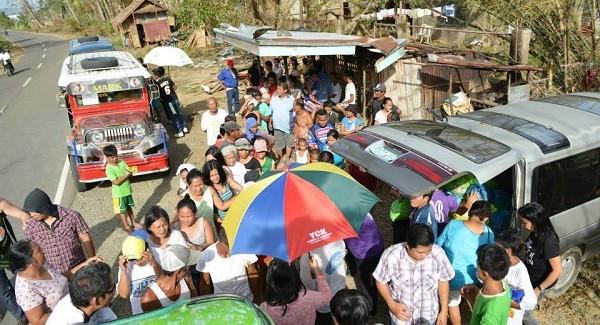 Operation Relief: Typhoon Yolanda Victims