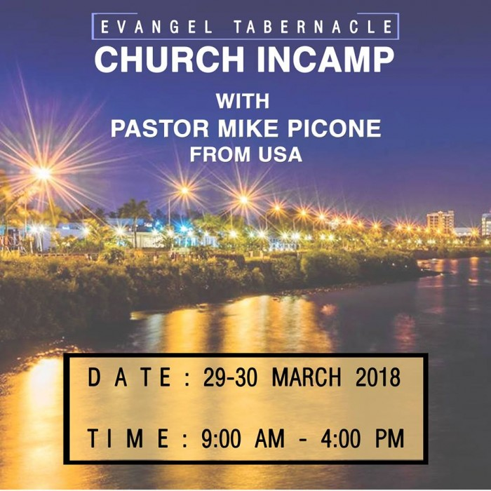 Church In-Camp with Pastor Mike Picone